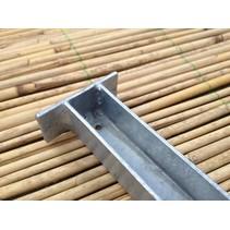 Set U-profiel | 180cm | gegalvaniseerd | 2 stuks