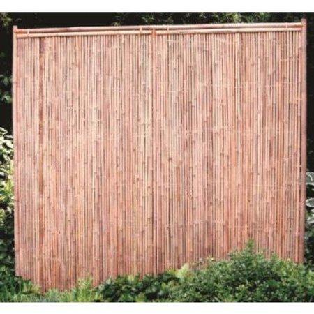 Bamboescherm Dicht   180x180   30mm