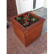 Plantenbak | Hardhout | 65x65x65cm