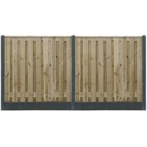 Tuinscherm Grenen | 180x180 | 19 planks