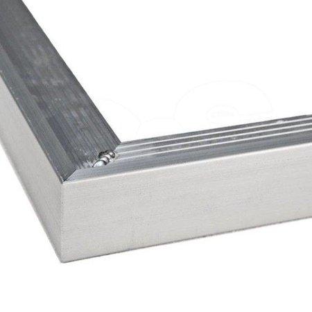 Aluminium daktrim buitenhoek | 35x45mm
