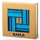 Kapla 40 bleu clair et foncé avec libre