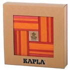Kapla 40 rouge / orange avec libre