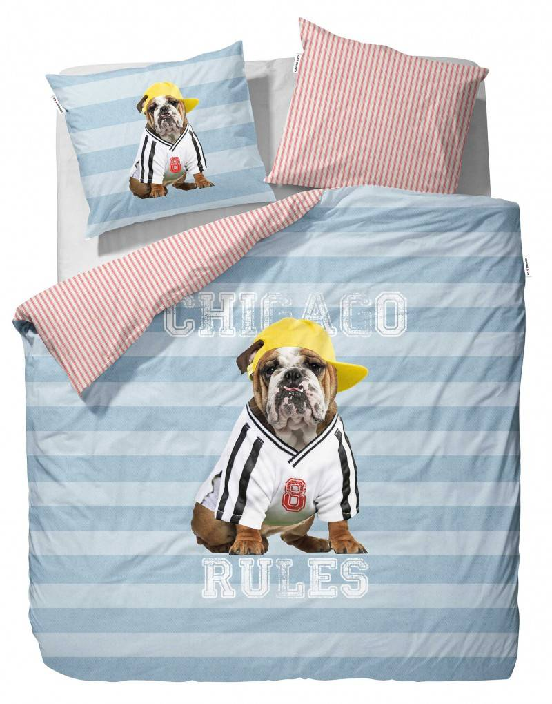 covers co joop dekbedovertrek met hond. Black Bedroom Furniture Sets. Home Design Ideas