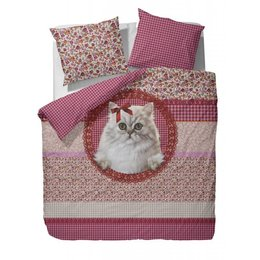 Covers & Co. Cats Fleur 140x200/220 met poes