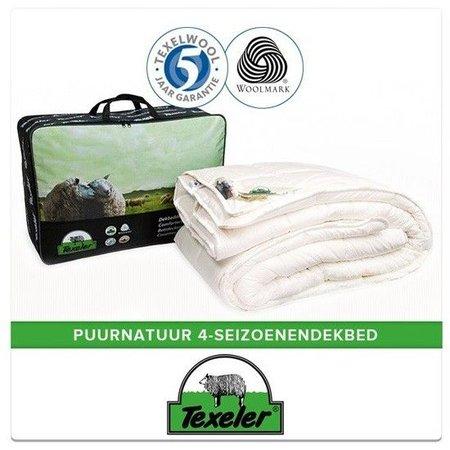 Texeler Texeler PuurNatuur 4-seizoenen wollen dekbed 140x200