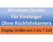 Windows Geräte für Einsteiger ohne Rückfahrkamera
