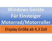 Windows Geräte für Einsteiger Motorrad / Motorroller
