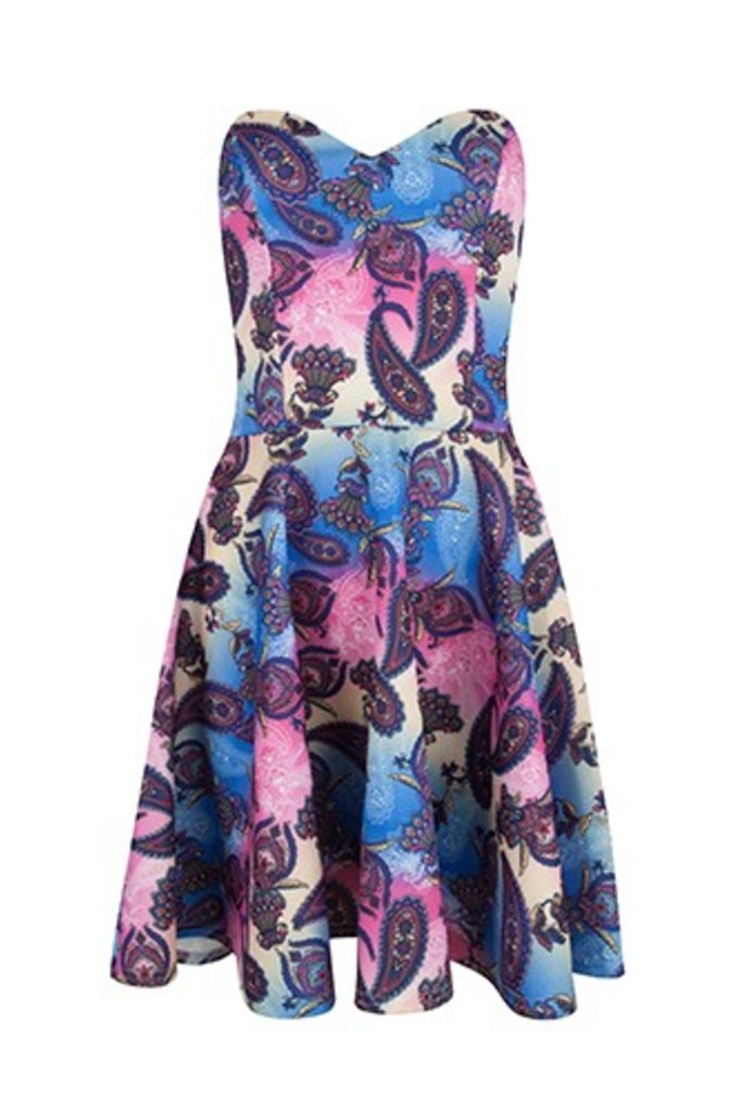 Dress Amber Blue
