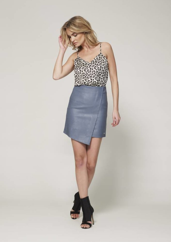 apr - skirt Ruby Blue