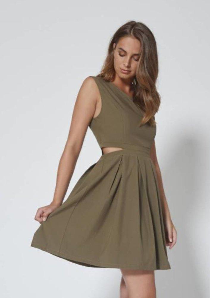 augustus - jurk rowan groen