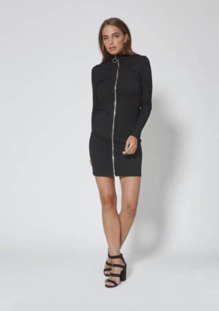 juli - jurk jillz zwart