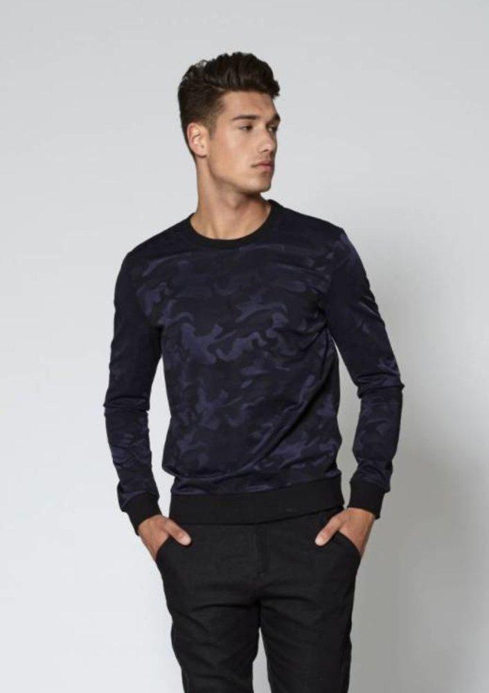 september - sweater ard blauw