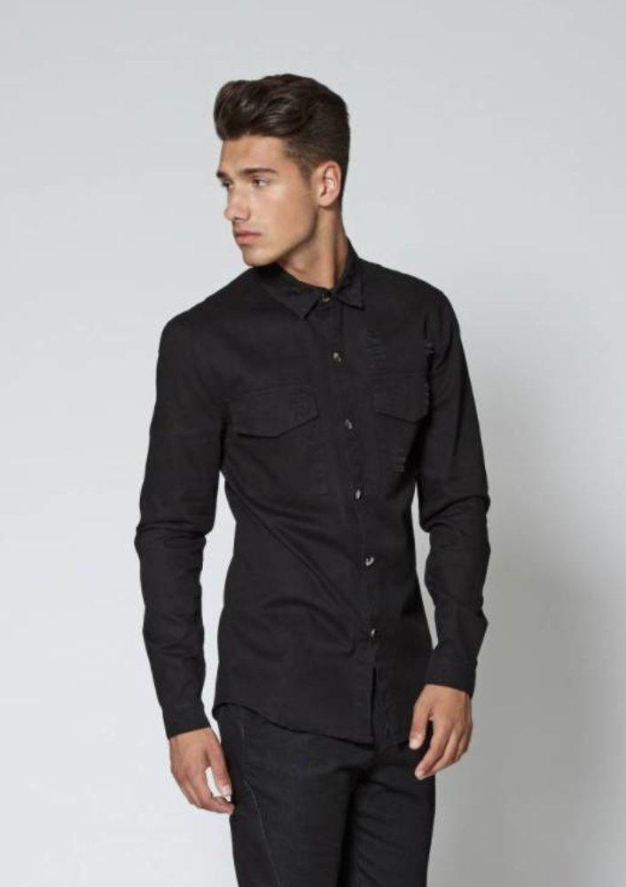 september - blouse gio zwart