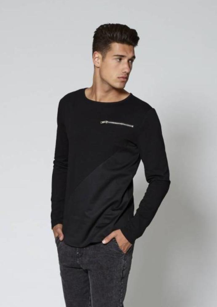 oktober - shirt levi zwart