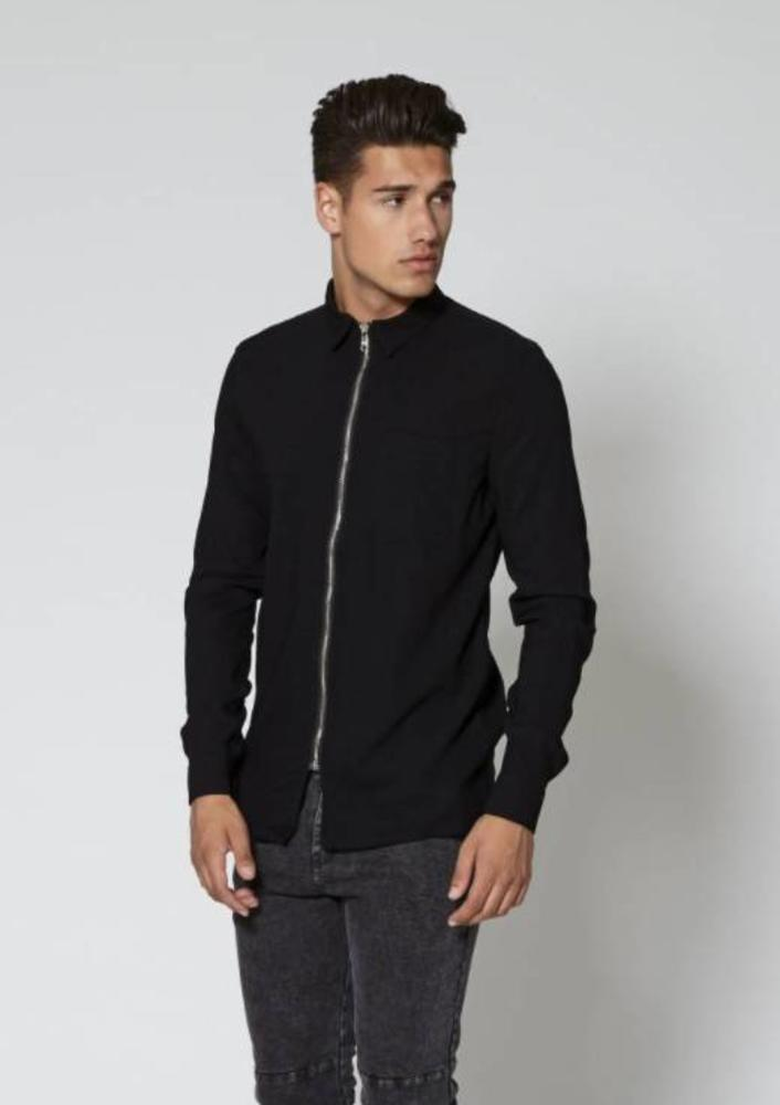 oktober - shirt finn zwart