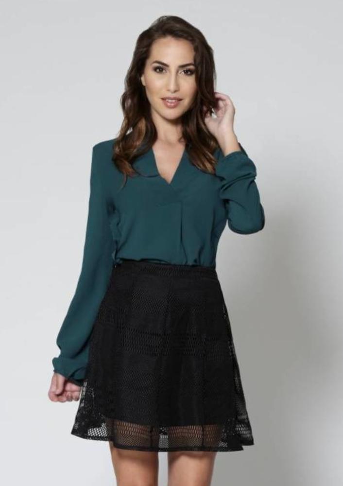 Oktober - blouse patty groen