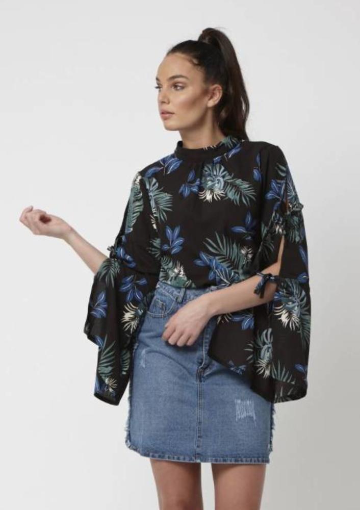 blouse marina zwart