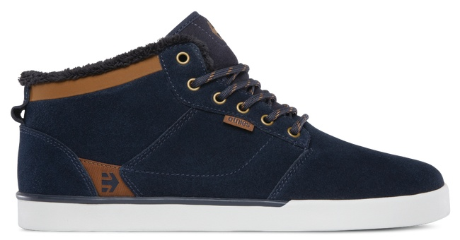 ETNIES ETNIES Jefferson Mid Navy/Brown/White