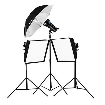 Lencarta Lighting Kit SmartFlash III 900Ws