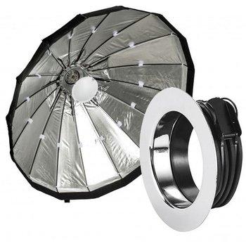 Lencarta Beauty Dish 120cm Opvouwbaar Zilver   Diverse merken speedring