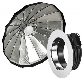 Lencarta Beauty Dish Silver 120cm Folding | Various brands Speedring