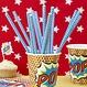 Ginger Ray Pop Art Superhelden Bekers - 8 stuks