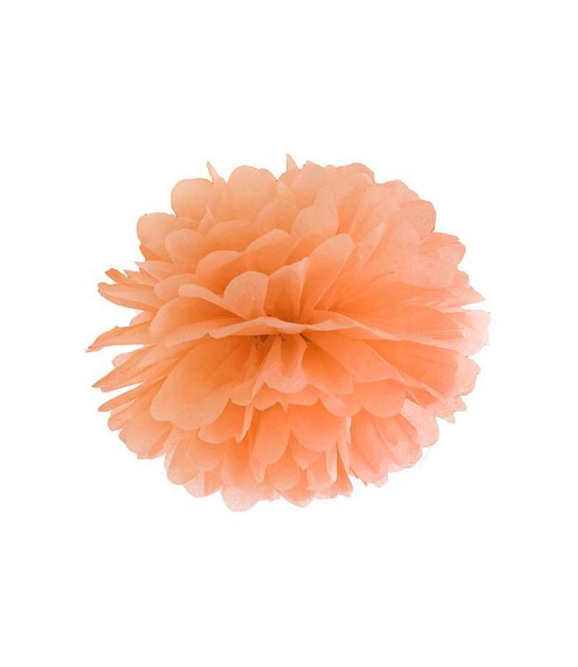 Partydeco Pom Pom Oranje (3 maten)