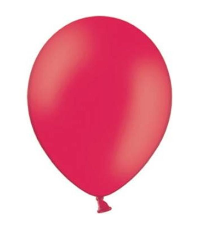 Partydeco Ballon Rood - 10 stuks - 30 cm