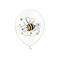 Partydeco Bijtjes Ballonnen - 6 stuks - 30 cm