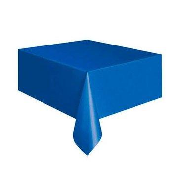 Unique Donkerblauw Tafelkleed - 1,37 x 2,74 meter - plastic