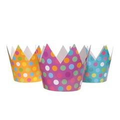 Partydeco Feestkroontjes - 6 stuks - karton