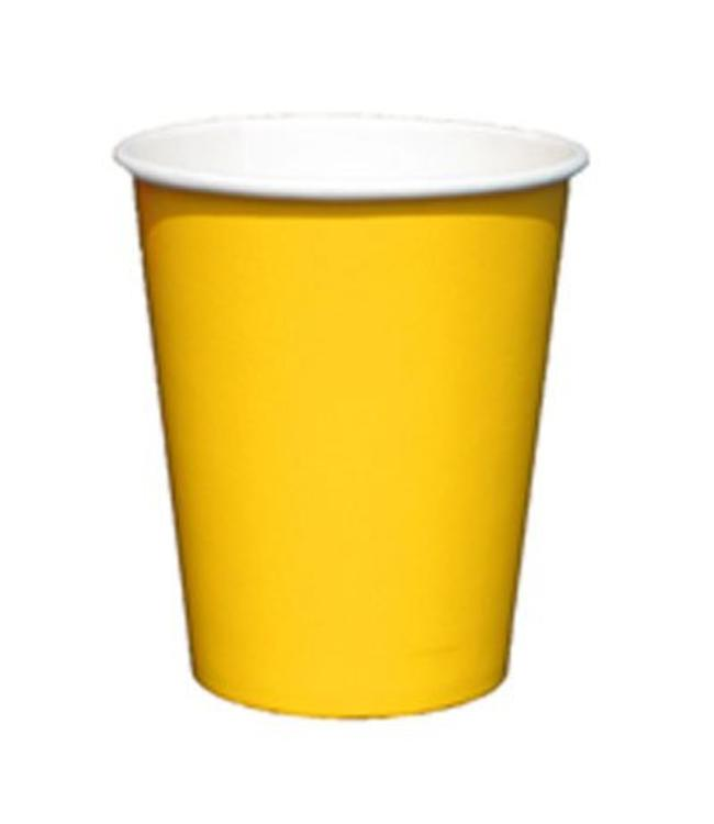 Unique Gele Bekers - 8 stuks