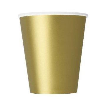 Unique Gouden Bekers - 8 stuks