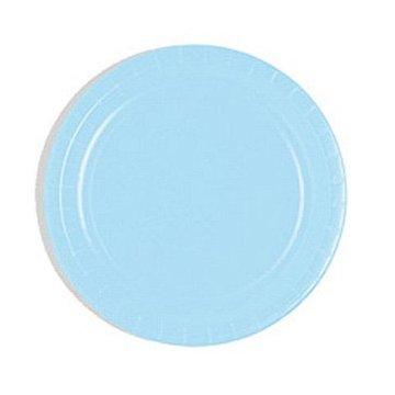 Unique Lichtblauwe Bordjes - 20 stuks - 18 cm