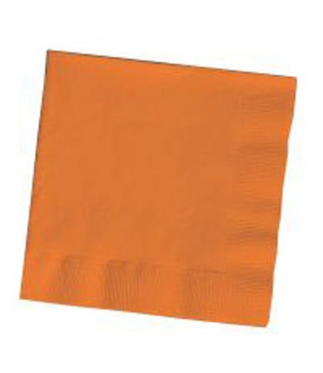 Unique Oranje Servetten - 20 stuks