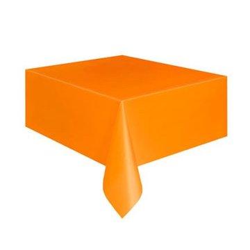 Unique Oranje Tafelkleed - 1,37 x 2,74 meter - plastic
