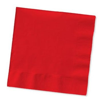 Unique Rode Servetten - 20 stuks