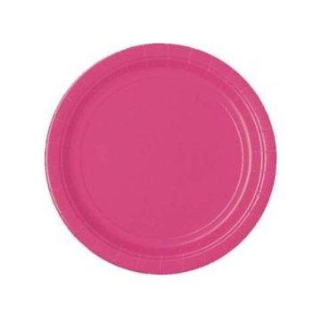 Unique Roze Bordjes - 8 stuks - 18 cm
