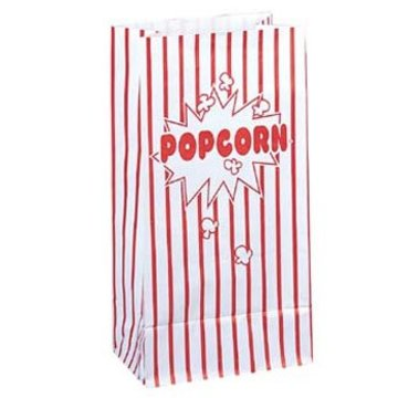 Unique Popcorn Uitdeelzakjes - 10 stuks - papier