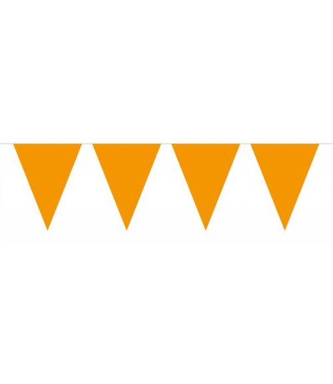 Folat Vlaggenlijn Oranje - 6 meter - plastic