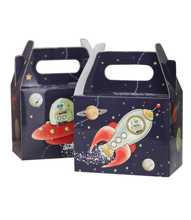 Ginger Ray Space Adventure Uitdeeldoosjes - 5 stuks - karton