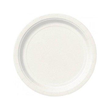 Unique Witte Bordjes - 20 stuks - 18 cm