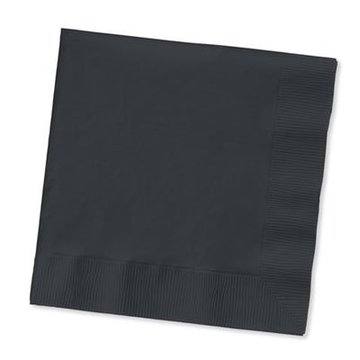 Unique Zwarte Servetten - 20 stuks