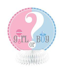 Unique Boy or Girl Centerpieces - 4 stuks -15 cm
