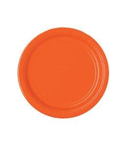 Unique Oranje Bordjes - 20 stuks - 18 cm