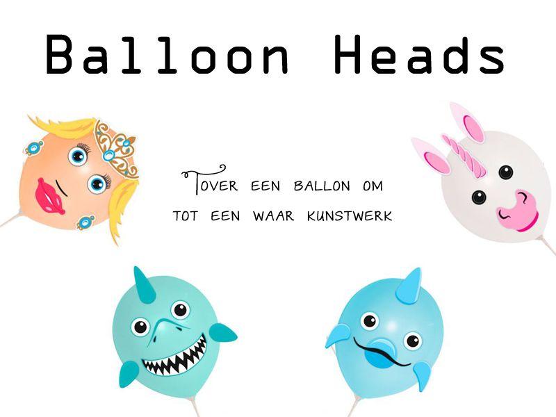 Ballonfiguren, maak plaats voor de Balloon Heads