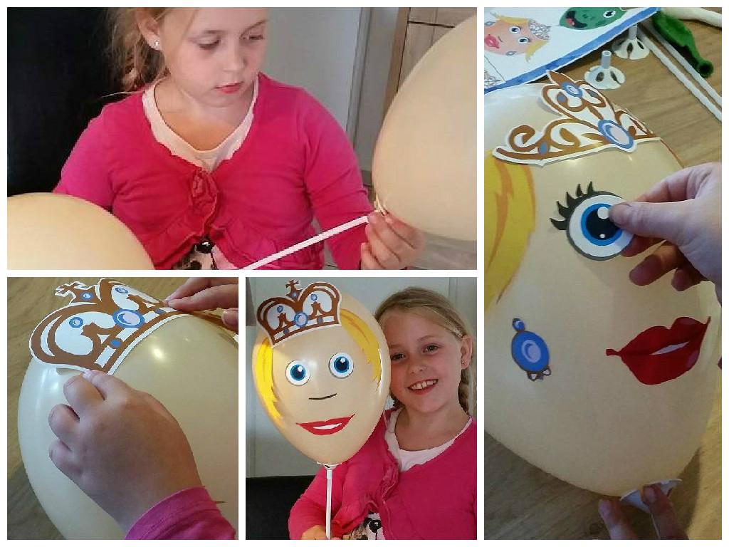 Balloon Heads prins en prinsessen