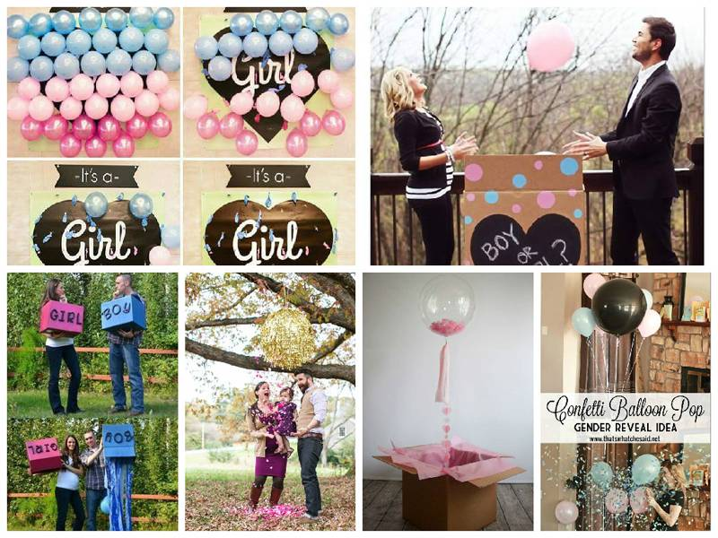 Trends: Baby Gender Reveal Party