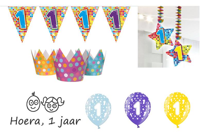 1ste verjaardag ballonnen